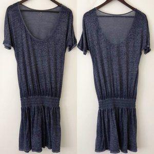 Athleta Sheer Burnout Knit Dress